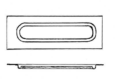 fan valve carriage body part