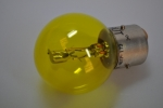 headlight bulb 6V 36/45W yellow bayonet