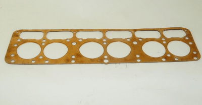 cylinder head gasket with centration hole