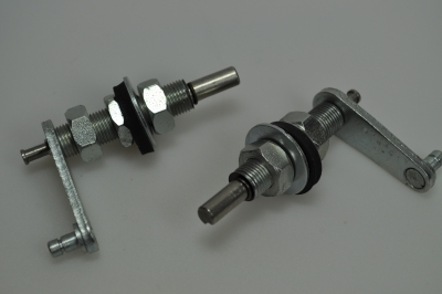 wiper spindle and lever set stainless steel (after 1952)