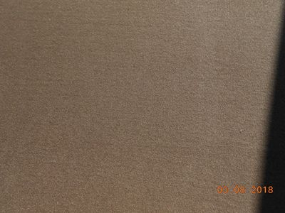 front carpet brown 11BL handmade in france