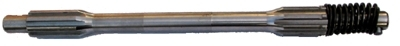 constant pinion shaft with splint