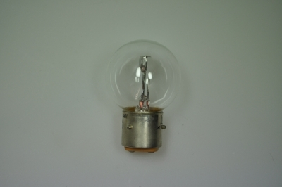 headlight bulb 6V 36/45W white bayonet