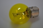 headlight bulb 12V 40/45W yellow bayonet