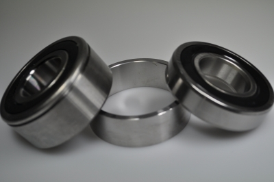 inner and outer bearing kit with spacer