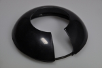 lower steering wheel cap black