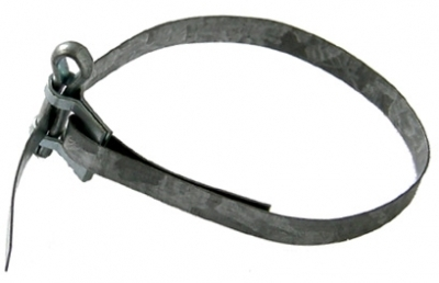 clamp for heating pipes