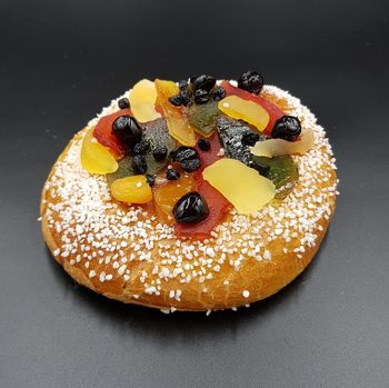 Brioche aux fruits