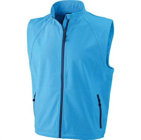 Mode hommes - softshell sans manches