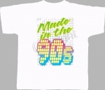 T-shirt homme manches courtes - Made in the 90's - Années 1990 néon - Disco - Danse - 11226