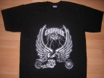 T-shirt HOMME manches courtes - Choppers Rule Moto Biker USA - 2923