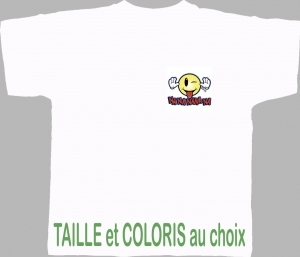 T-shirt HOMME manches courtes - Smiley Na Na Na - 4124