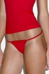 String ficelle - LADIES THONG - 301 - rouge