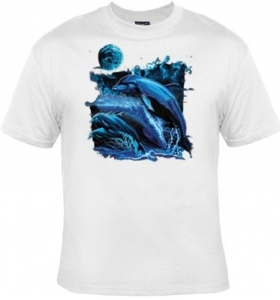 T-shirt homme manches courtes - Dauphins midnight - 10856