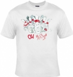 T-shirt homme manches courtes - Bowling quilles humour - 1170