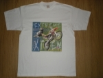 T-shirt homme manches courtes - Moto-cross - 12536 - blanc