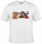 T-shirt HOMME manches courtes - Love my country - 9000 - blanc