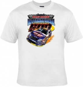 T-shirt homme manches courtes voiture course Tuning - nitro racing international - 12204