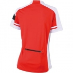 maillot cycliste - femme - JN451 - rouge