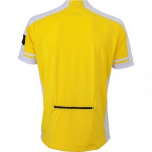 maillot cycliste - homme - JN452 - jaune