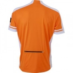 maillot cycliste - homme - JN452 - orange