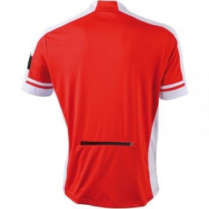 maillot cycliste - homme - JN452 - rouge