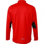 t-shirt respirant manches longues running JN474 rouge tomate HOMME - jogging - course à pied