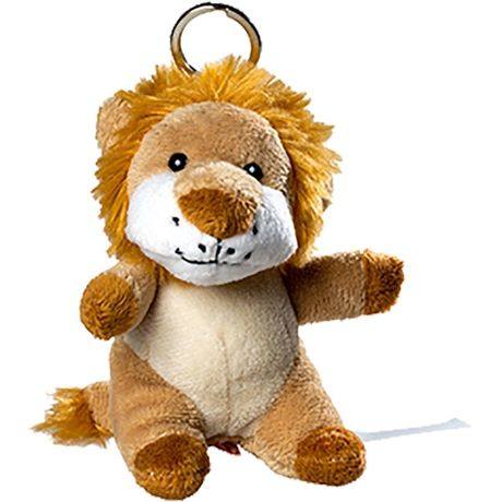 Porte clés lion - 60388 marron