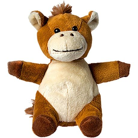 Peluche cheval - 60393 marron