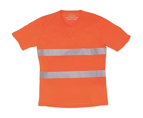 t-shirt de sécurité en maille - orange fluo - HVJ910