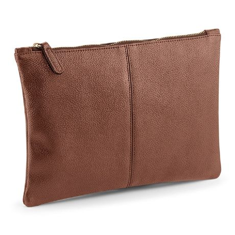 Pochette simili cuir - QD889 - marron