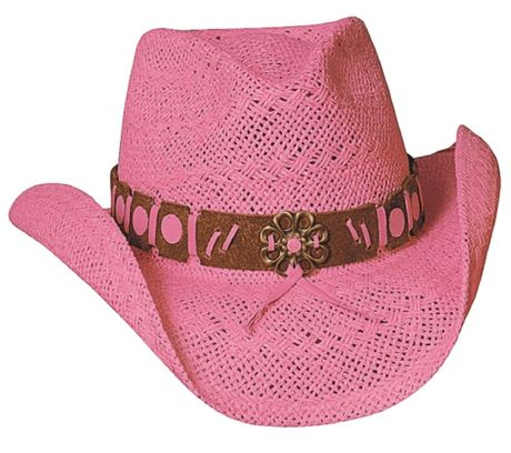 Chapeau country Winston Pink - 2224P - rose