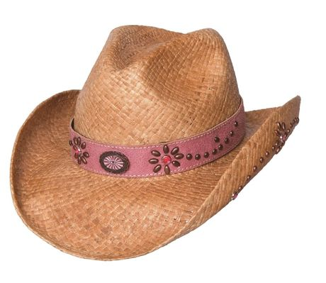 Chapeau country Daughter of the west  - 2545 - beige naturel