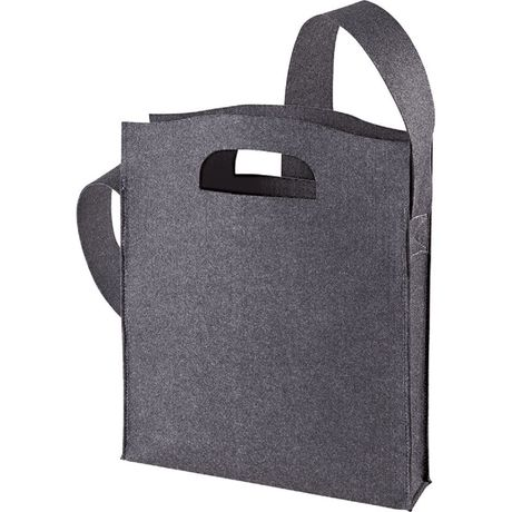 Sac shopping en feutre - 1807536 - gris