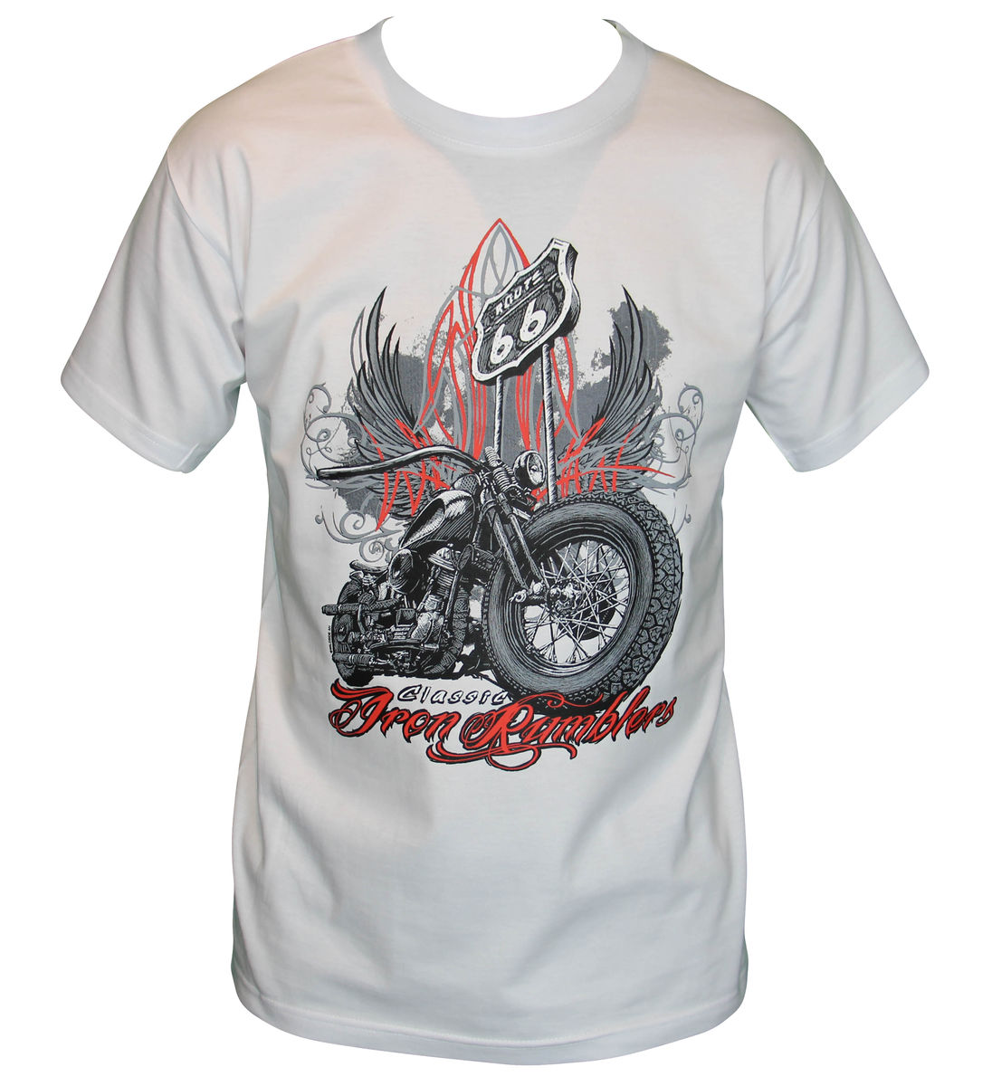 t-shirt biker chopper Iron Ramblers