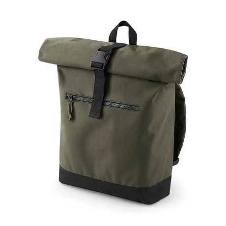 Sac à dos roll-top 12L - compartiment ordinateur - BG855 - vert militaire