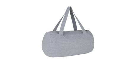 Sac polochon french terry - 01675 - gris