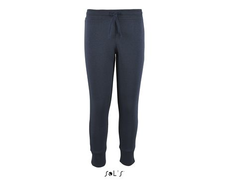 Pantalon jogging coupe slim enfant - 02121 - bleu marine
