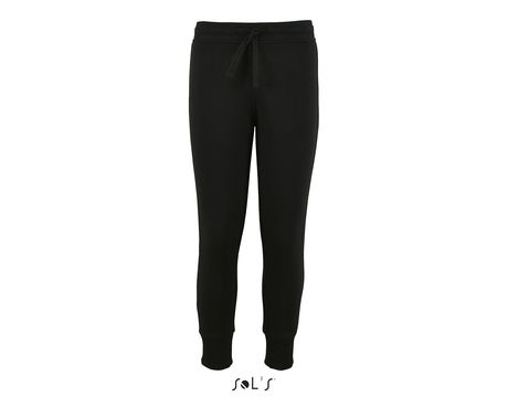 Pantalon jogging coupe slim enfant - 02121 - noir