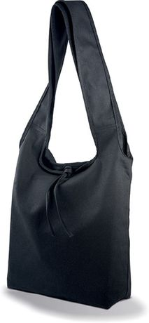 Sac shopping en coton Canvas - KI0212 - noir
