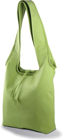 Sac shopping en coton Canvas - KI0212 - vert lime