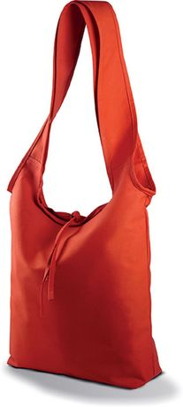Sac shopping en coton Canvas - KI0212 - rouge