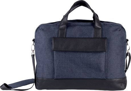 Sac porte ordinateur business - KI0429 - bleu marine