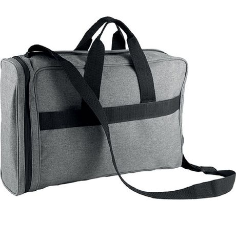 Sac porte documents/ordinateur - KI0421 - gris