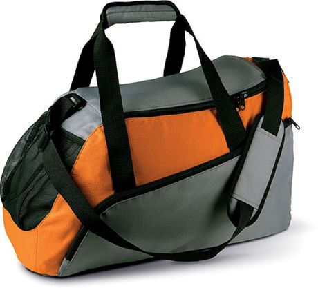 Sac de sport - KI0607 - orange et gris