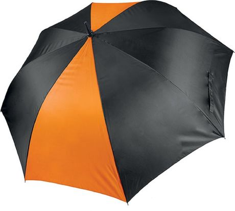 Grand parapluie de golf - KI2008 - noir et orange