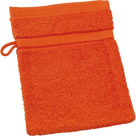 Gant de toilette - éponge - MB435 - orange