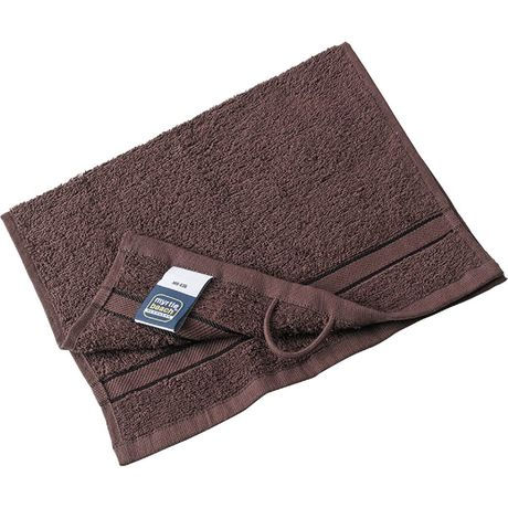 Serviette d'invité - éponge - MB436 - marron chocolat