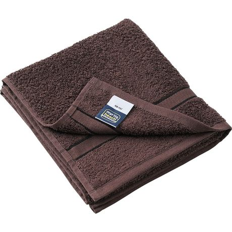 Serviette de toilette - éponge - MB437 - marron chocolat