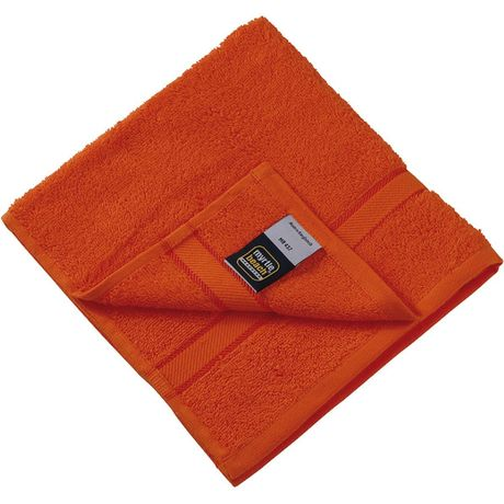 Serviette de toilette - éponge - MB437 - orange